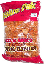 Value Pak Hot & Spicy Pork Rinds