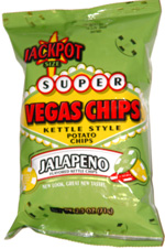 Super Vegas Chips Kettle Style Jalapeno
