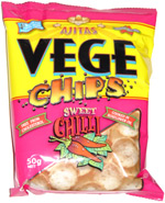 Ajitas Vege Chips Sweet Chilli