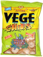 Ajitas Vege Chips Herb & Garlic