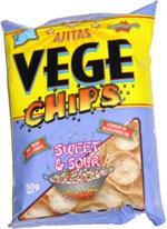 Ajitas Vege Chips Sweet & Sour