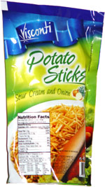 Visconti Potato Sticks Sour Cream and Onion
