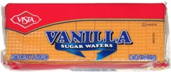 Vista Vanilla Sugar Wafers