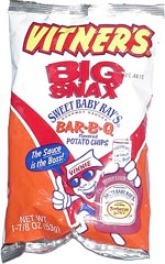 Vitner's Sweet Baby Ray's Bar-B-Q Potato Chips