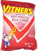 Vitner's Ridgett Style Hot Wings & Blue Cheese Potato Chips