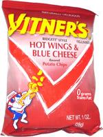 Vitner's Ridgett Style Hot Wings & Blue Cheese Potato Chips