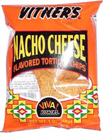 Vitner's Nacho Cheese Flavored Tortilla Chips