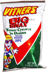 Vitner's Sour Cream 'n Onion Flavored Potato Chips