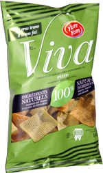 Yum Yum Viva Pesto Seasoned Vegetable Chips