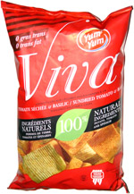 Yum Yum Viva Sundried Tomato & Basil Seasoned Vegetable Chips
