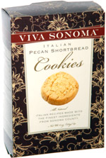 Viva Sonoma Italian Pecan Shortbread Cookies