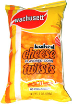 Wachusett Baked Cheese Flavor Corn Twists