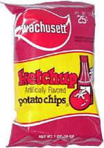 Wachusett Ketchup Potato Chips