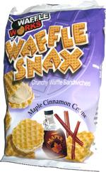 Waffle Works Waffle Snax Maple Cinnamon Creme