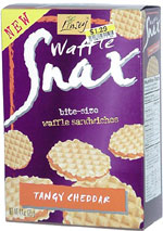 Linsey Waffle Snax Tangy Cheddar