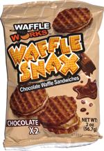 Waffle Works Waffle Snax Chocolate X2