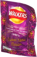 Walkers Celebrating Flavours of the Decades 1980's Chicken Tikka Masala