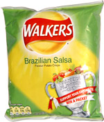 Walkers Brazilian Salsa Flavour Potato Crisps