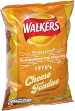 Walkers Celebrating Flavours of the Decades 1970's Cheese Fondue