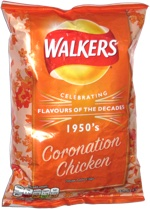 Walkers Celebrating Flavours of the Decades 1950's Coronation Chicken