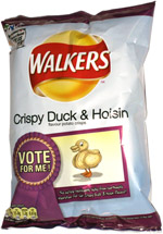 Walkers Crispy Duck & Hoisin Flavour Potato Crisps
