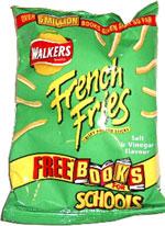 Walkers French Fries Crispy Potato Sticks Salt & Vinegar Flavour
