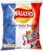 Walkers French Garlic Baguette Flavour Potato Crisps