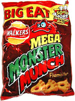 Mega Monster Munch Flamin' Hot