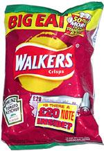 Walkers Heinz Ketchup Flavour Crisps