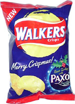 Walkers Roast Turkey with Paxo Sage & Onion Flavour Crisps