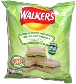 Walkers Cheese, Cucumber & Salad Cream Flavour Potato Crisps