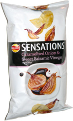 Walkers Sensations Caramelised Onion & Sweet Balsamic Vinegar Potato Crisps