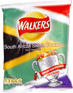 Walkers South African Sweet Chutney Potato Crisps