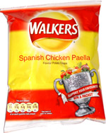 Walkers Spanish Chicken Paella Flavour Potato Crisps