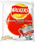 Walkers Japanese Teriyaki Chicken Flavour Potato Crisps