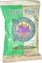 Wall Street Deli Jalapeño Potato Chips