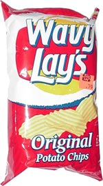 Wavy Lay's Original Potato Chips
