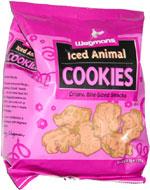 Wegmans Iced Animal Cookies