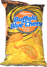 Wegmans Buffalo Blue Cheese Potato Chips