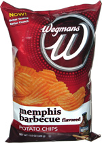 Wegmans Memphis Barbecue Potato Chips