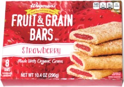 Wegmans Fruit & Grain Bars Strawberry