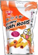 Crispy Fish Rolls Shrimp Flavour
