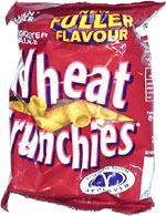 Golden Wonder Wheat Crunchies Worcester Sauce Flavour
