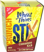 Wheat Thin Crunch Stix Cinnamon Kick