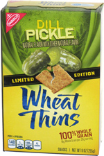 Wheat Thins Dill Pickle