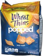Wheat Thins Popped Sea Salt