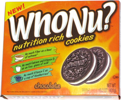 WhoNu? Nutrition Rich Cookies Chocolate