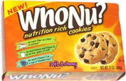 WhoNu? Nutrition Rich Cookies Soft & Chewy Chocolate Chip