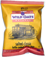 Wild Oats Natural Salted Classic Kettle-Cooked Potato Chips