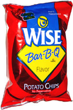 Wise Bar-B-Q Potato Chips